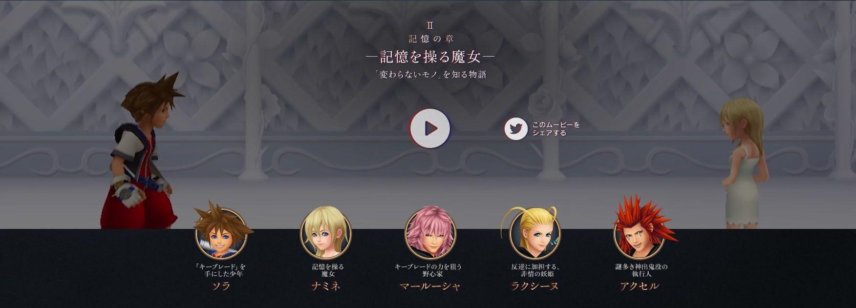 kingdom hearts episodes 3