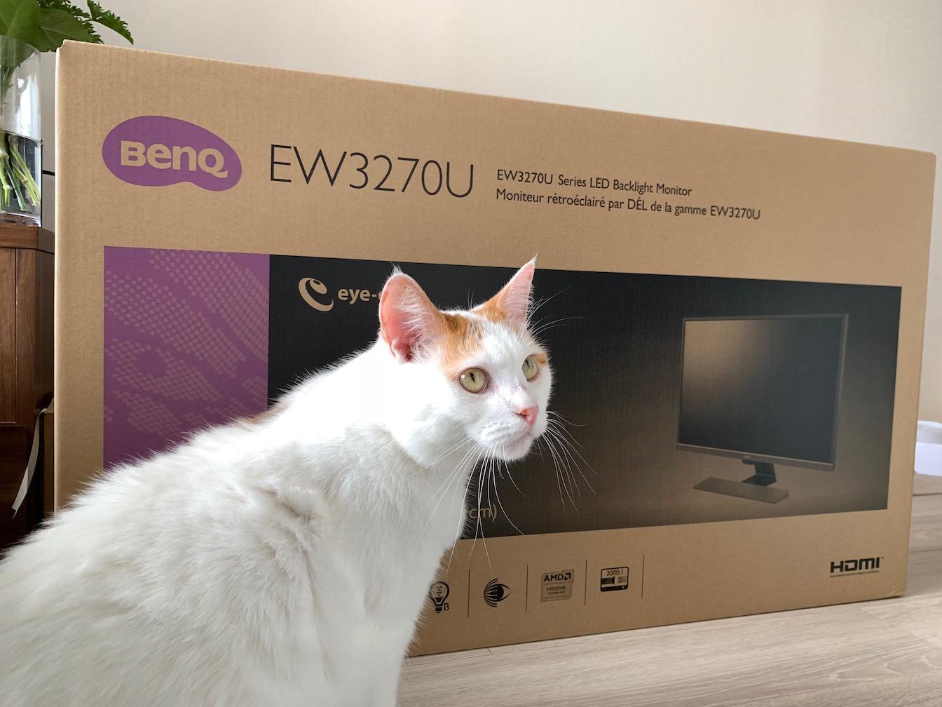 BenQ EW3270U first impression 0