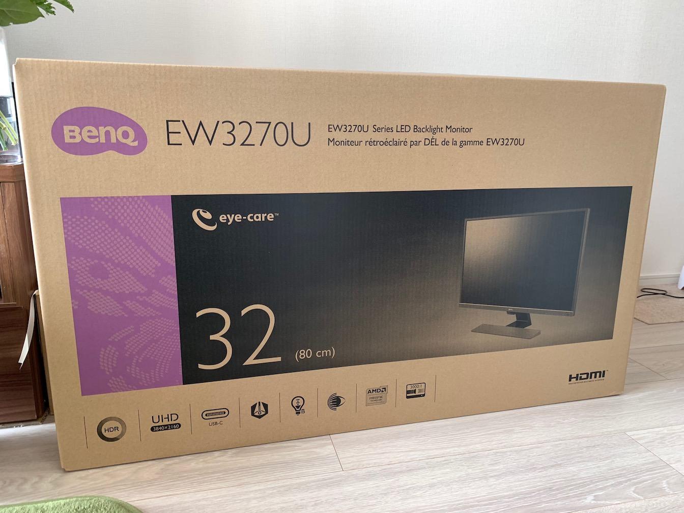 BenQ EW3270U first impression 1