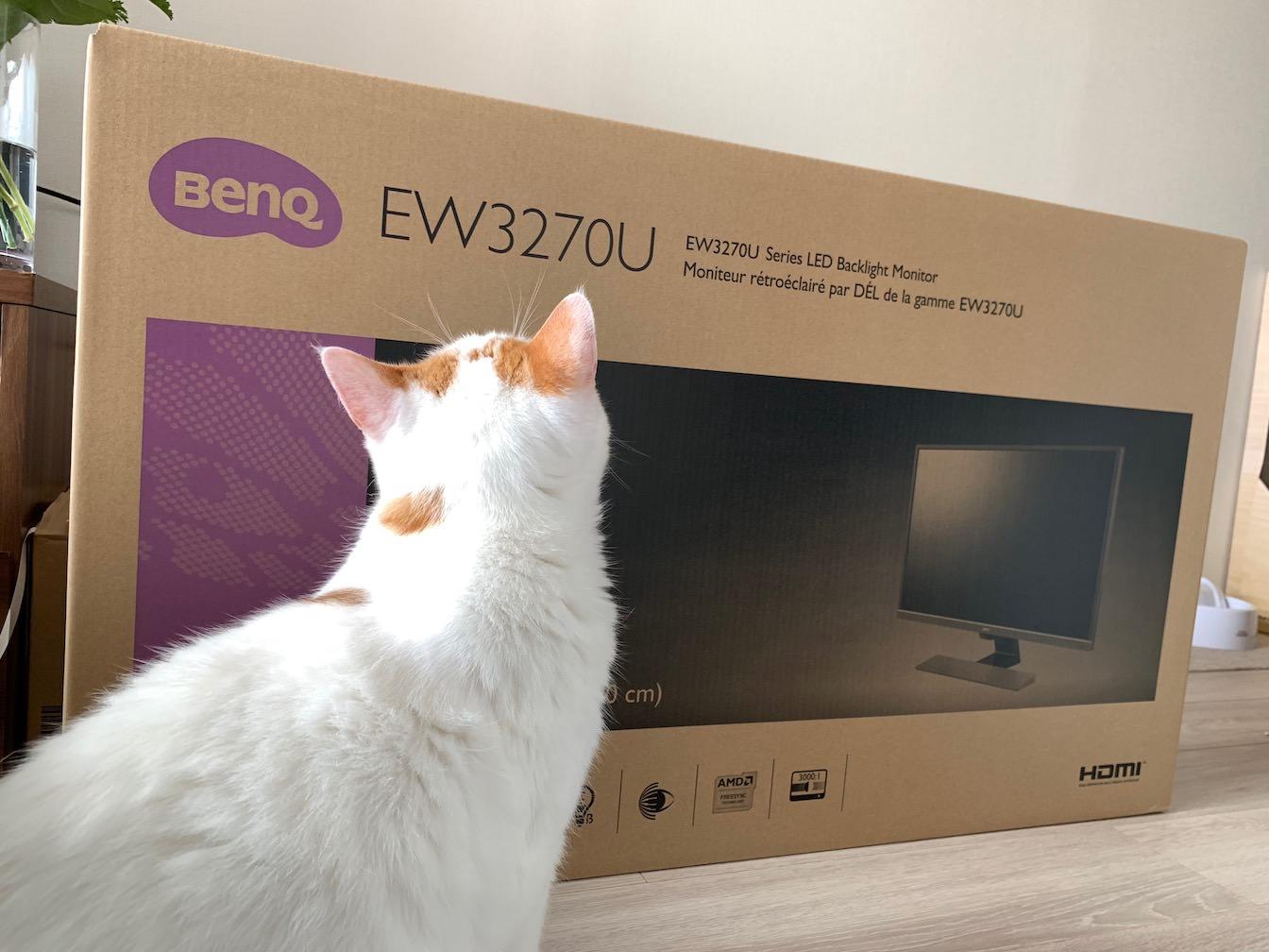 BenQ EW3270U first impression 2