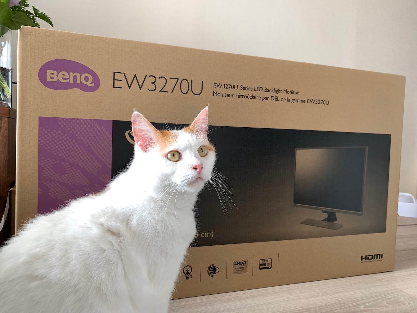 BenQ EW3270U first impression 3