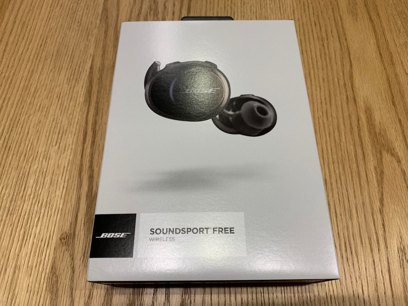 Bose SoundSport Free wireless headphones first impression 1